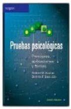PRUEBAS PSICOLOGICAS: PRINCIPIOS Y APLICACIONES
