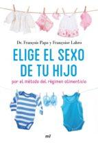 ELIGE EL SEXO DE TU HIJO (EBOOK)