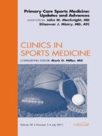 PRIMARY CARE SPORTS MEDICINE: UPDATES AND ADVANCES, AN ISSUE OF CLINICS IN SPORTS MEDICINE (EBOOK)
