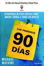 LOS PRIMEROS 90 DIAS: ESTRATEGIAS DE EXITO DECISIVAS PARA NUEVOS LIDERES