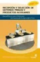 RECEPCION Y SELECCION DE MATERIAS PRIMAS Y PRODUCTOS AUXILIARES: MANUAL PRACTICO PARA EL ELABORADOR DE CONSERVAS DE PRODUCTOS DE LA PESCA