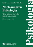 NORTASUNAREN PSIKOLOGIA: GIZA IZAERARI BURUZKO JAKINTZA-EREMUAK (EBOOK)
