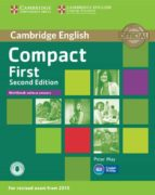 compact first second edition workbook without answers with audio 9781107428553