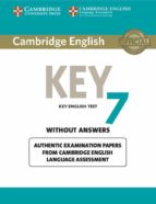 cambridge english key 7 student s book without answers-9781107641853