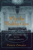 why the wealthy give (ebook) 9781400821853