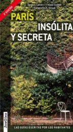 paris insolita y secreta (jonglez) 2013 9782361950453