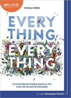everything, everything (audio cd) nicola yoon 9782367625553