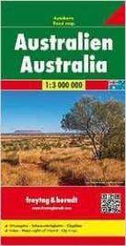 freytag & berndt autokarte australien ; freytag & berndt road map australia-9783707914153
