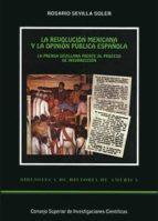 la revolución mexicana y la opinión pública española (ebook)-rosario sevilla soler-9788400090753