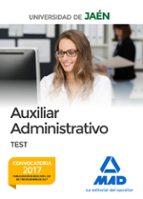 auxiliar administrativo de la universidad de jaen: test-9788414214053
