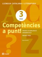 competències a punt! llengua 3 eso ed 2013  cataluña/balears-9788421853153