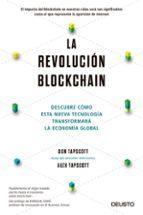 la revolución blockchain don tapscott alex tapscott 9788423426553