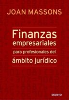 finanzas empresariales para profesionales del ambito juridico joan massons 9788423427253