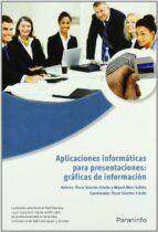 aplicaciones informaticas para presentaciones: graficas de inform acion-oscar sanchez estella-9788428332453