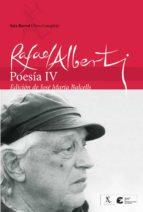 poesia (t. iv) rafael alberti 9788432240553