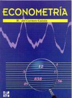 econometria-maria del carmen guisan seijas-9788448111953