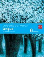 lengua 6º educacion primaria cuaderno 2º trimestre pauta savia ed 2015 9788467578553