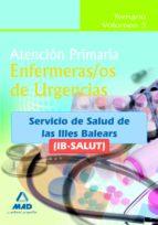 ENFERMEROS DE URGENCIAS DE ATENCION PRIMARIA DEL IB-SALUT. TEMARI O VOLUMEN III