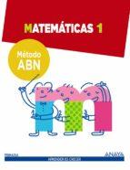 matemáticas 1. método abn.-9788467862553