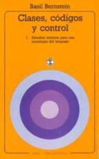 CLASES, CODIGOS Y CONTROL (T. 1)