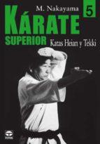 karate superior 5 katas heian y tekki masatoshi nakayama 9788479025953