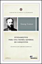 fundamentos para una teoria general de conjuntos-georg cantor-9788484326953