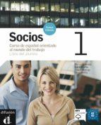 socios 1. libro del alumno + cd-9788484434153