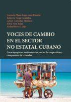 Voces de cambio en el sector no estatal cubano :$bcuentapropistas, usufructuarios, socios de cooperativas y compraventa de viviendas
