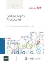 código leyes procesales 2018-vicente gimeno sendra-9788490207253