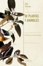 de plantas y animales ida vitale 9788490666753