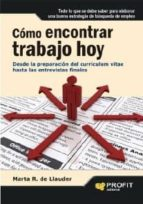 cómo encontrar trabajo hoy (ebook) marta r. de llauder 9788492956753