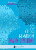 dos chicos besandose david levithan 9788494527753