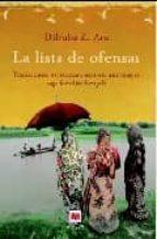 la lista de ofensas: tradiciones, esperanza y azar en una magica saga familiar-dilruba z. ara-9788496748453