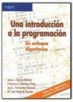 una introduccion a la programacion: un enfoque algoritmico-9788497321853