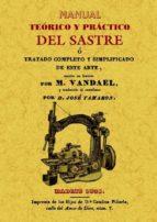 manual teorico y practico del sastre (ed. facsimil) m. vandael 9788497618953
