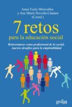 7 RETOS PARA LA EDUCACIÓN SOCIAL (EBOOK)