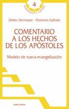 comentario a los hechos de los apóstoles (ebook)-detlev dormeyer-9788499450353
