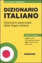 DIZIONARIO DI ITALIANO. DIZIONARIO ESSENZIALE DELLA LINGUA ITALIA NA. CON CD-ROM