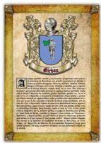 apellido girbau / origen, historia y heráldica de los linajes y apellidos españoles e hispanoamericanos (ebook) antonio tapia cdlhf00015653