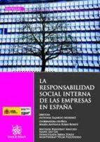 LA RESPONSABILIDAD SOCIAL INTERNA DE LAS EMPRESAS EN ESPAÑA (EBOOK)
