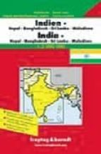 INDIA, NEPAL, BANGLADESH, SRI LANKA Y BUTÁN MAPA DE CARRETERAS (1 :2750000)