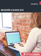 Iniciación a Access 2016