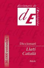 DICCIONARI BASIC LLATI-CATALA