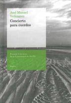 CONCIERTO PARA CUERDOS (Premios Literarios de la Universidad de Sevilla)