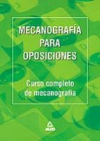 MECANOGRAFIA PARA OPOSICIONES