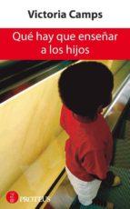 QUÉ HAY QUE ENSEÑAR A LOS HIJOS (EBOOK)