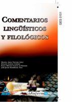 COMENTARIOS LINGUISTICOS Y FILOLOGICOS