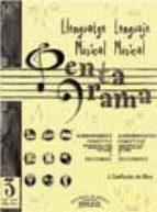 PENTAGRAMA LLENGUATGE MUSICAL= LENGUAJE MUSICAL Nº 3 GRAU-GRADO E LEMENTAL (SOLUCIONARIO)