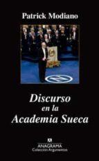 Discurso en la academia sueca (Argumentos)