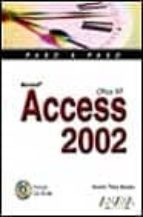 Access 2002 (Paso a Paso / Step-By-Step)